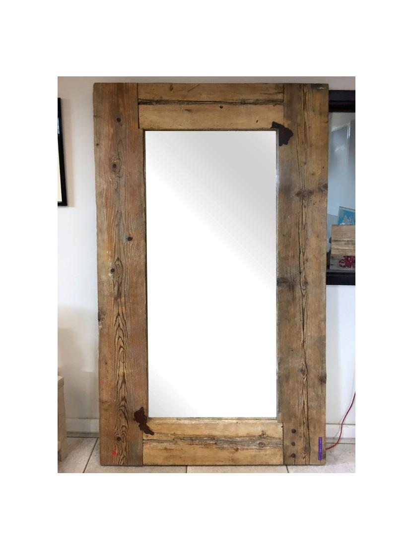 Specchio in legno riciclato - Specchio in legno ...
