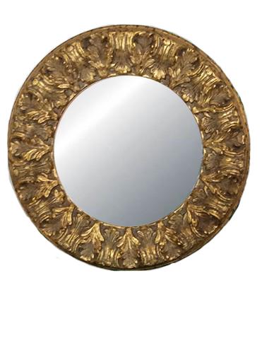 Specchiera dorata