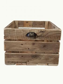Cassetta in legno large 100% riciclo