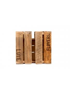 Cassetta in legno medium 100% riciclo
