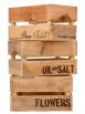 Cassetta in legno mini 100% riciclo