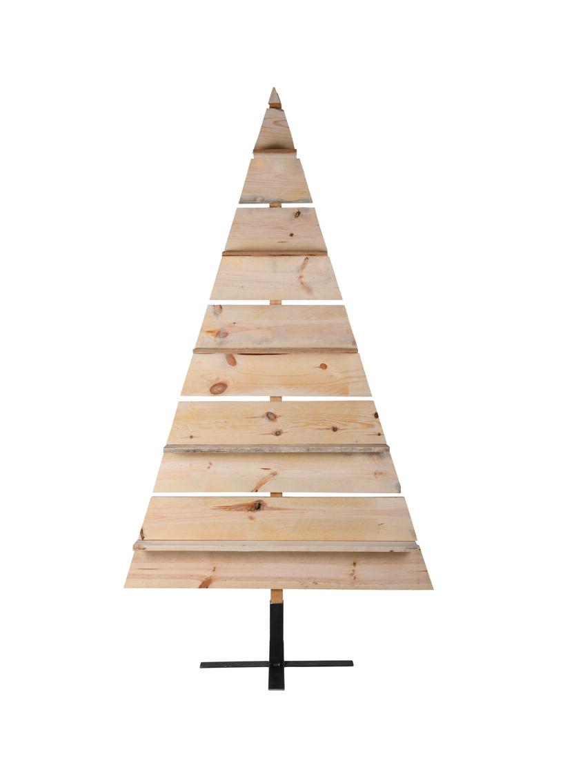 Albero Natale Legno.Albero Di Natale Alto 180 Cm In Legno Riciclato