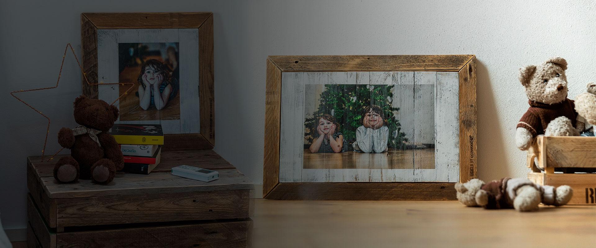 Quadro in legno personalizzato