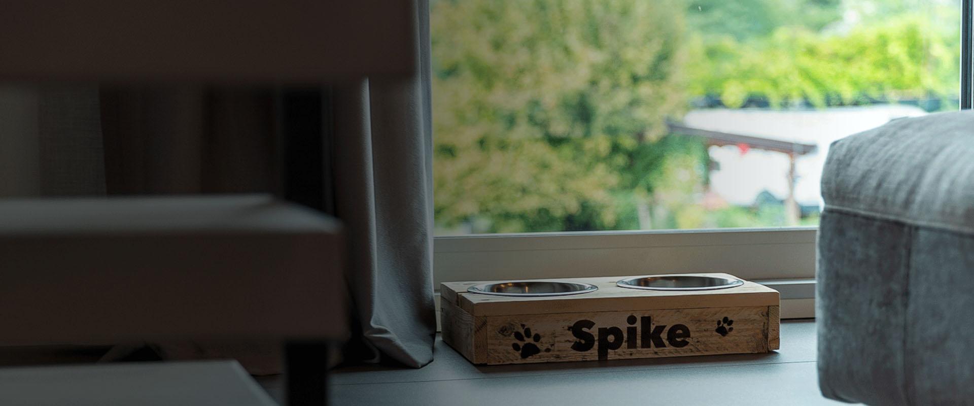 Dog Set in legno riciclato 100%